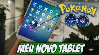 Meu NOVO tablet pra jogar Pokemon GO - Samsung Galaxy Tab S2