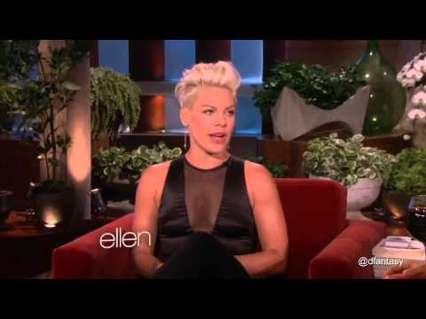 P!nk Funniest Moments Part 1