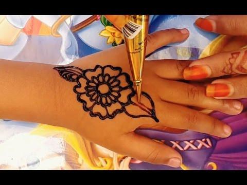 ᴴᴰ Simple seni design henna mehndi
