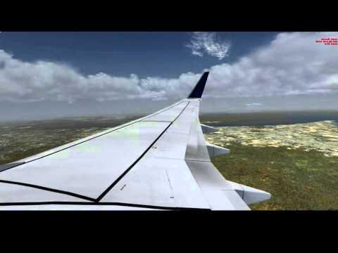 Delta Airlines 737-800 Landing at Washington-Dulles International