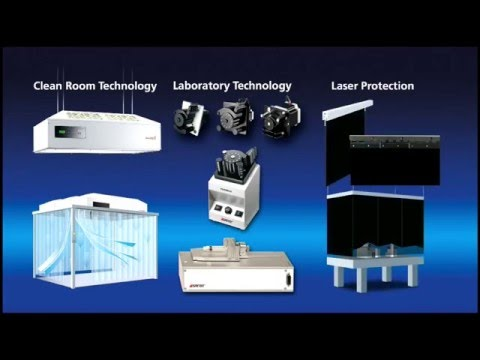 Spetec Company for laboratory equipment and clean room technology