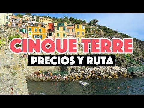 ¿Cuánto cuesta viajar a Cinque Terre, Italia? - Precios 2019