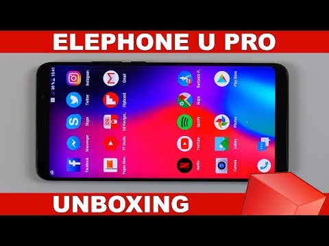 Elephone U Pro Unboxing & First Impressions