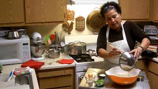 Mary's Making Creole Gumbo And Pumpkin Sage Cornbread! Part 3