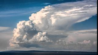 3 cumulonimbus cloud life cycle (timelapse)