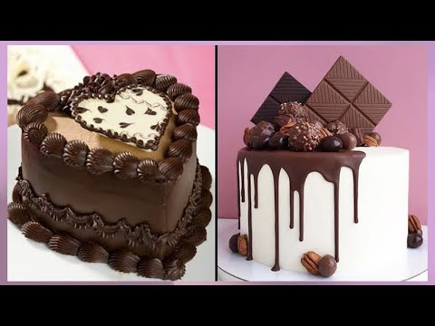 delicious-chocolate-cake-recipes-|-so-yummy-chocolate-cake-decorating-ideas-|-easy-chocolate-cakes