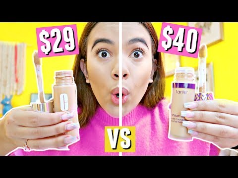 $29 Clinique Beyond Perfecting Foundation vs. $40 Tarte Shape Tape Foundation!!