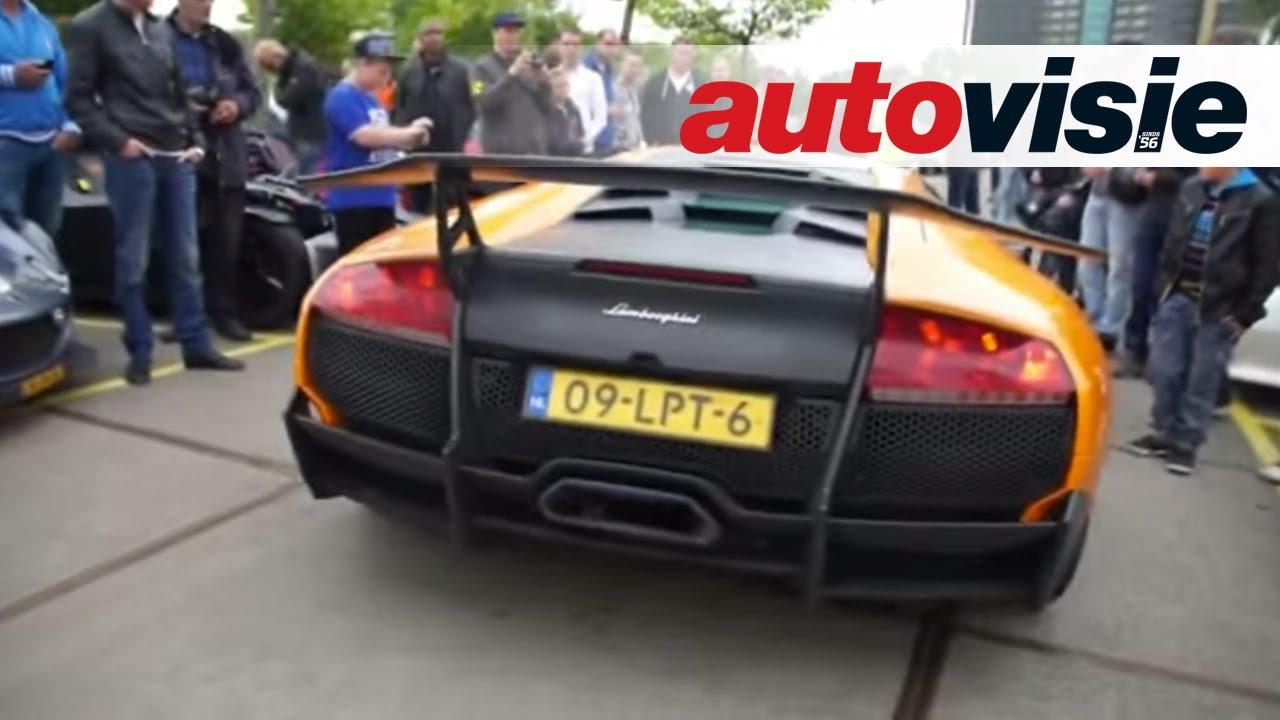 Autovisie Cars And Coffee Xxl Lamborghini Murcielago Sv Revs