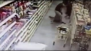 Courageous mother saves daughter from shocking kidnap attempt in grocery store