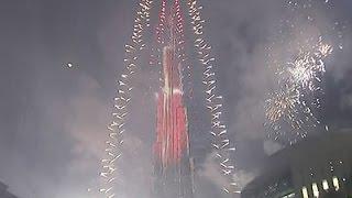 Raw: New Year's Celebration in Dubai