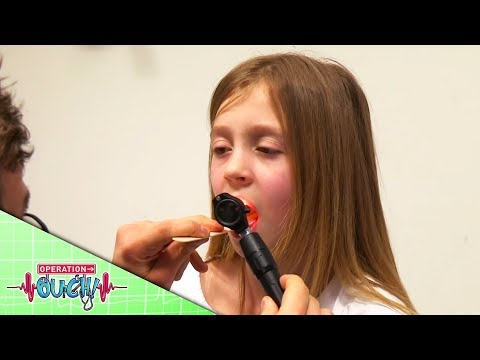 Science For Kids - I Swallowed A Hair Clip | Operation Ouch