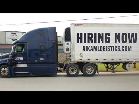 Now Hiring Drivers at Aikam Logistics!