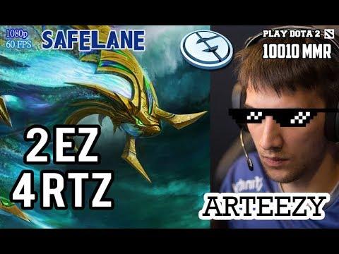 Arteezy Morphling - 2 EZ 4 RTZ   Dota 2 Patch 7.07 Dueling Fates #2