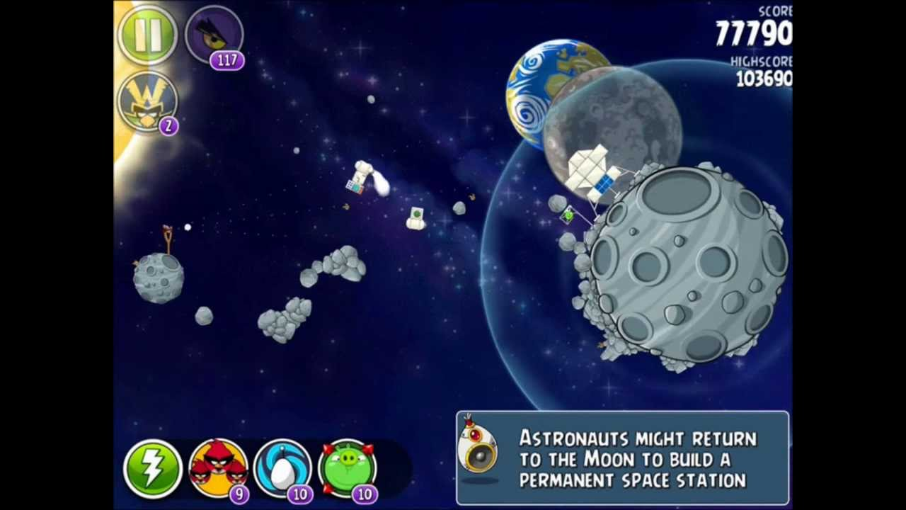 angry birds space lunar launcher - photo #41