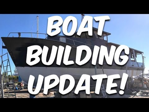 Steel Boat Builders Update - BUILDING BRUPEG (Ep. 24)