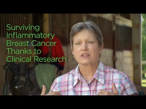 Surviving Inflammatory Breast Cancer Thanks to Clinical Research
