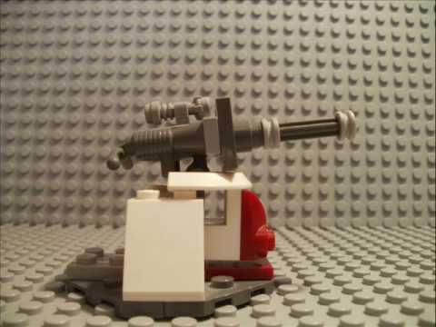 How To Make: LEGO Star Wars BattleFront Turret - YouTube