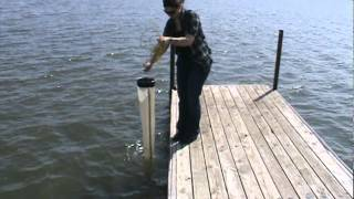 Plankton net collection.mpg