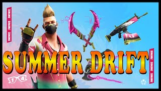 "FORTNITE: 14 DAYS OF SUMMER (Coming Soon) - NEW ""SUMMER DRIFT"" SKIN SET in the ITEM SHOP!"