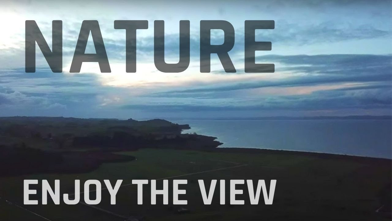 Amazing views of the hills and far lands too relaxing (Nature Visualizer)