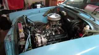 Запуск ГАЗ 21 V8 Змз 511 Overpower