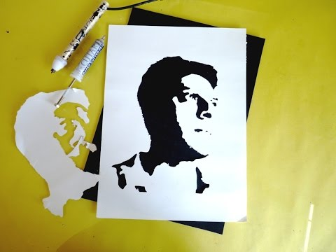 Silhouette Photo Design And Stencil Cutting With Cutart Pro Kit