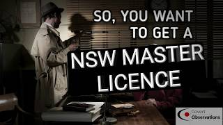 So, you want to get a NSW Master Licence.