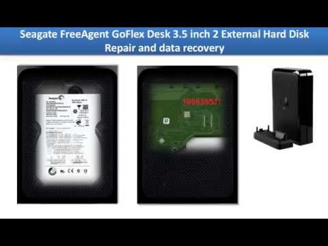 Seagate FreeAgent GoFlex Desk  External Hard Disk  Repair And Data Recovery  100535537 Or 100574451