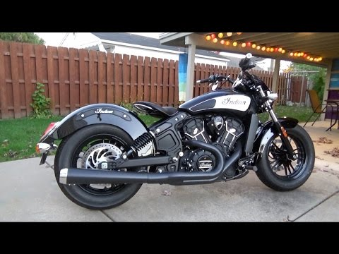 Project 2016 Indian Scout Sixty Part 4 (Moore Speed Racing Parts & 1920's Solo Seat Install)