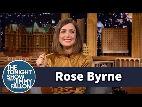 Rose Byrne s Off Her Crazy Kookaburra Call