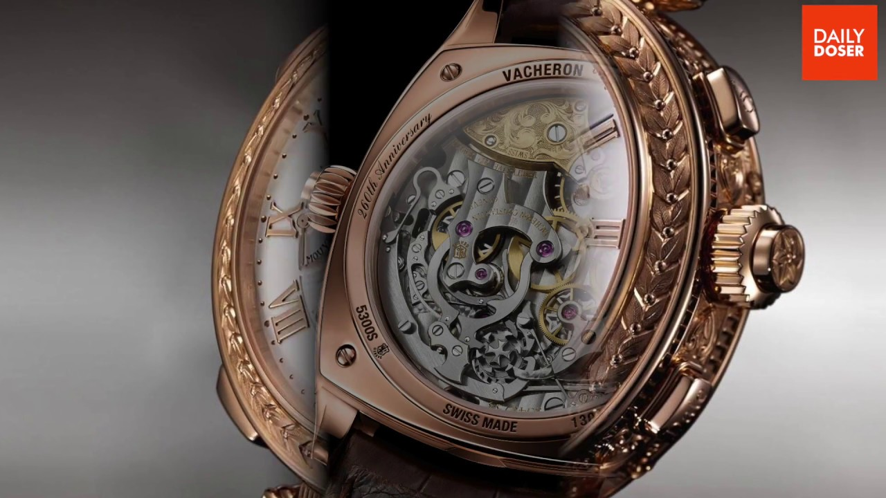 Top 10 Most Expensive Watch Brands In The World 2017 Youtube