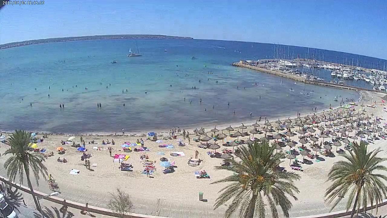 Livecam Can Pastilla Mallorca