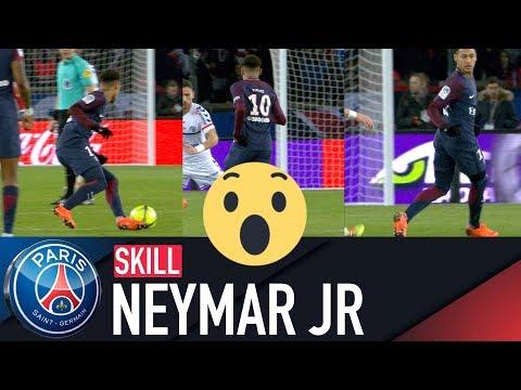 SKILL / GESTE TECHNIQUE : NEYMAR JR - PARIS SAINT-GERMAIN vs STRASBOURG