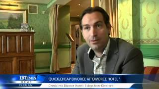 Quick,Cheap Divorce at 'Divorce Hotel '