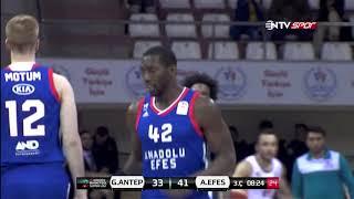 Basketbol Süper Ligi 14. Hafta:  Gaziantep Basketbol - Anadolu Efes