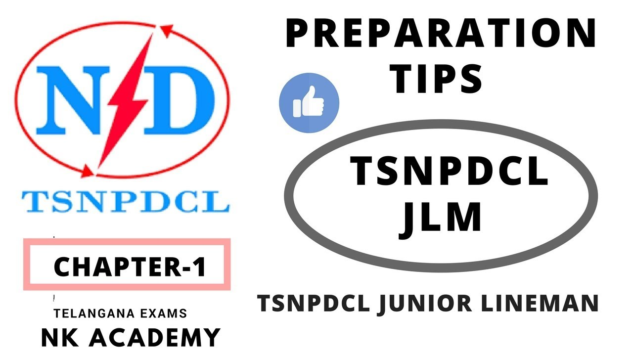 TSNPDCL JLM CHAPTER-1 PREPARATION CLASSES