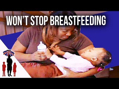 Mum can't stop breastfeeding...Supernanny USA