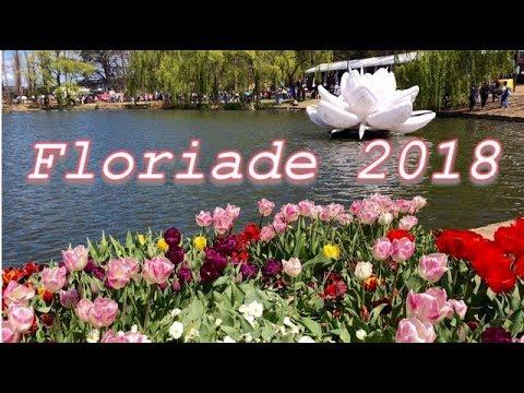 FLORIADE 2018 Pop Culture, Canberra, Australia | Tulip Festival | Spring Celebration