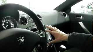 Peugeot RCZ gli interni