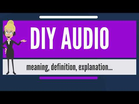 What is DIY AUDIO? What does DIY AUDIO mean? DIY AUDIO meaning, definition & explanation