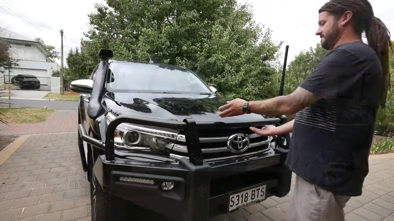 Toyota Hilux Lightforce Diy Install - Striker Leds