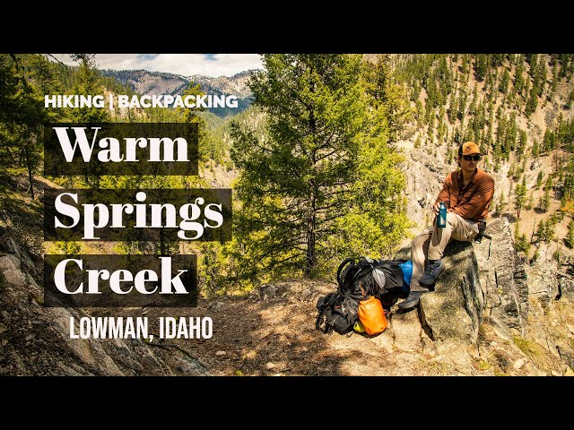 Finding An Incredible Campsite Next To A River Hot Spring