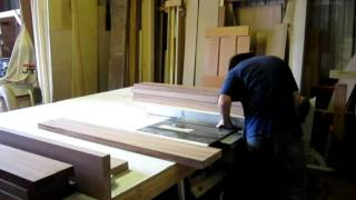 Just Cutting Some Sapele On The Table Saw
