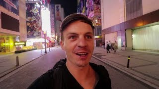 FIRST DAY IN TOKYO - Akihabara, Street Food & £50/Night Hostel