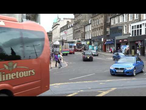 Junction Of Princes Street And Hanover Street Edinburgh Scotland
