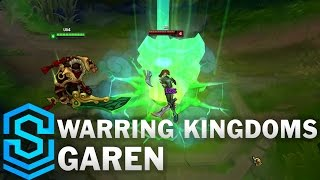 Warring Kingdoms Garen Skin Spotlight - League of Legends