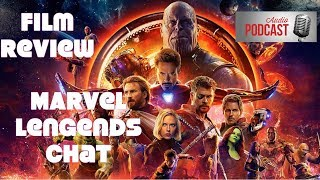 Audio Tour Avengers Infinity War Film review & Marvel Legends Discussion