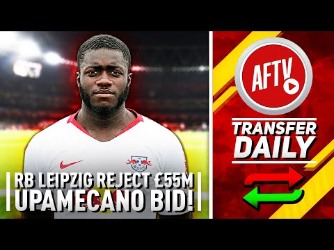 arsenal-£55m-bid-for-upamecano-rejected-but-they-still-want-him!-|-aftv-transfer-daily