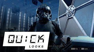 Star Wars: Squadrons: Quick Look (Video Game Video Review)