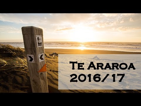 Thru-hike Te Araroa 2016/17 in Luna Sandals